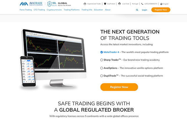 AvaTrade - A global regulated broker for shorting!