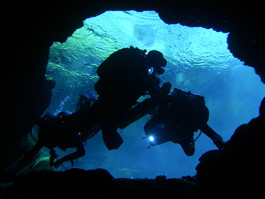 Cave Diving