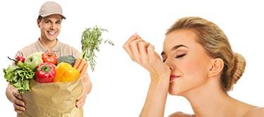 Perfume vs groceries